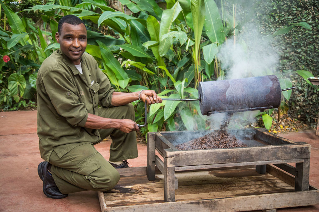 Gibb's Farm - Coffee plantation accommodation Tanzania