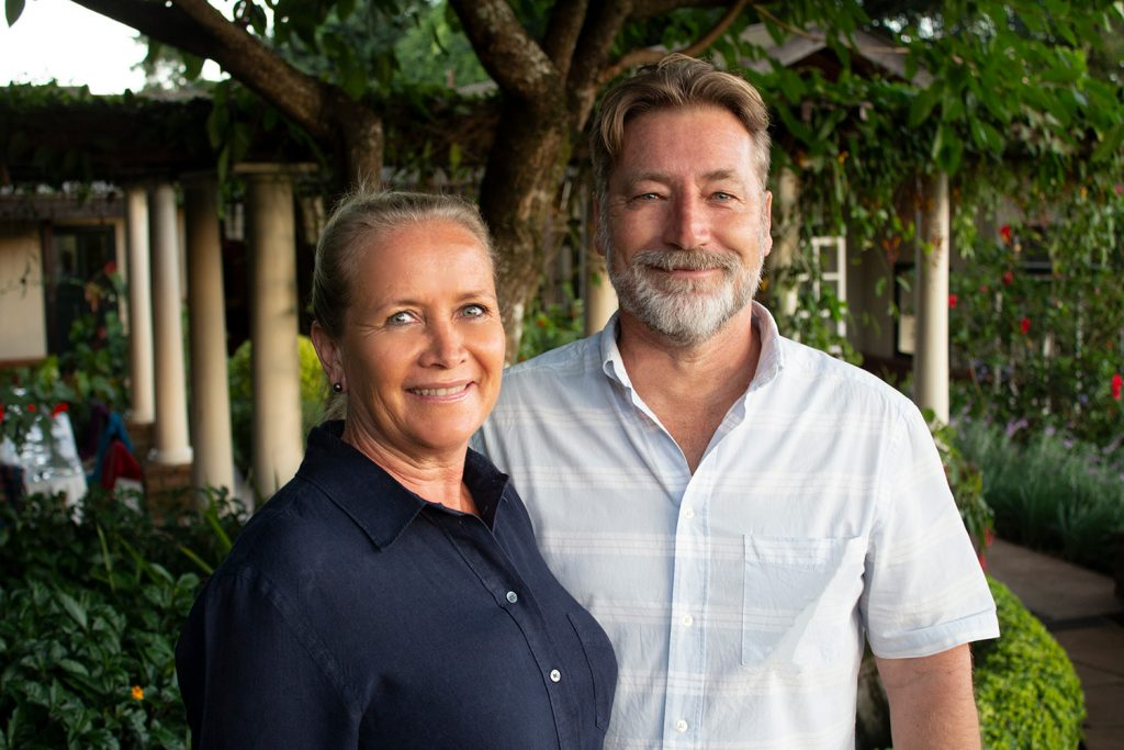 Gibb's Farm Tanzania Nick and Sally Cooper