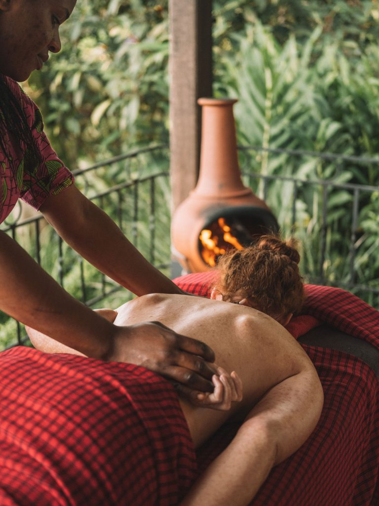 Gibb's Farm - Enjoy a revitalising massage this World Mental Health Day