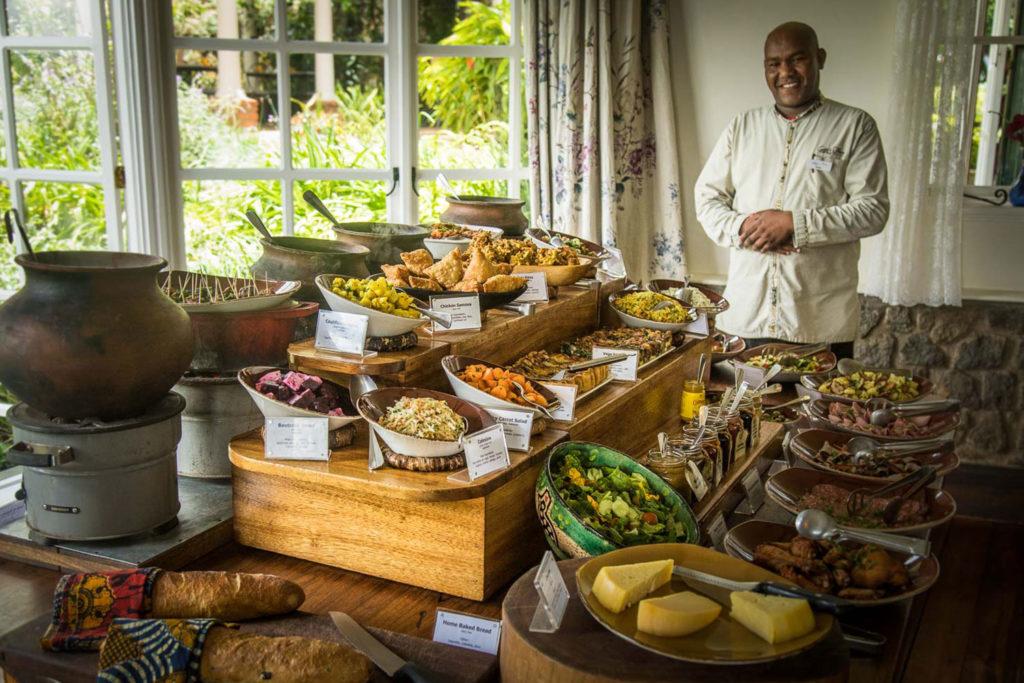 Gibb's Farm - Family-friendly dining in Tanzania